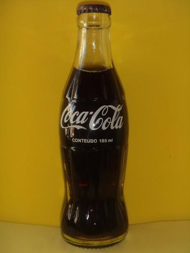 garrafa antiga da coca-cola 1979 185ml cisper - ga023