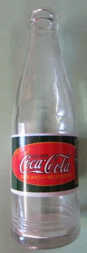 garrafa antiga drink coca-cola - s retorno - uruguaia - c27