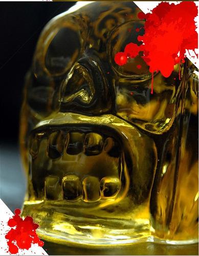 garrafa cabeça de zumbi 450 ml walking dead