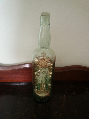 garrafa com a imagem de são joão batista, séc. xix