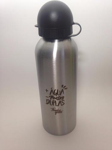 garrafa de água térmica para academia