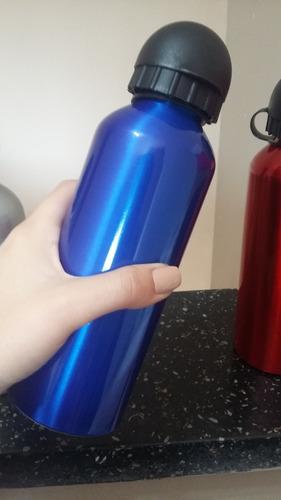 garrafa de aluminio sport p/ sublimação