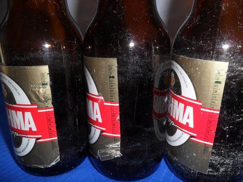 garrafa de cerveja brahma