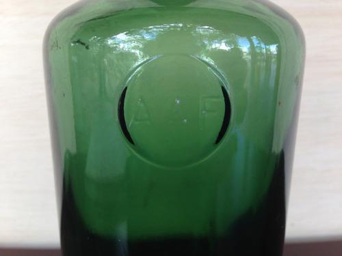 garrafa de vidro aaf (0336)