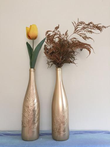 garrafa decorativa enfeite para a casa produto artesanal