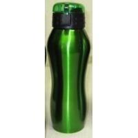 garrafa esportiva 650 ml em inox - com tampas em cores