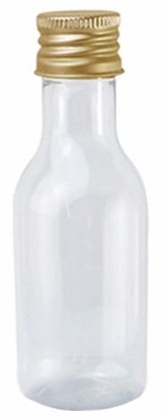 garrafa garrafinha pet tampa anti vazamento 50ml 200 unid