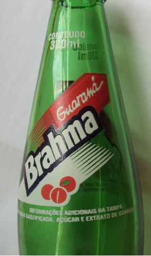 garrafa guaraná brahma  - verde - 330 ml  - b3