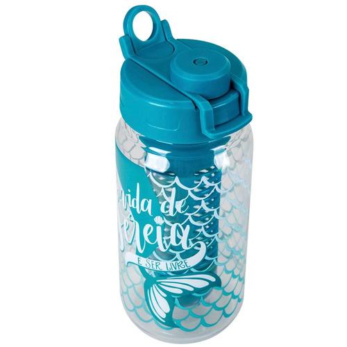 garrafa infusor easy 500ml - sereia