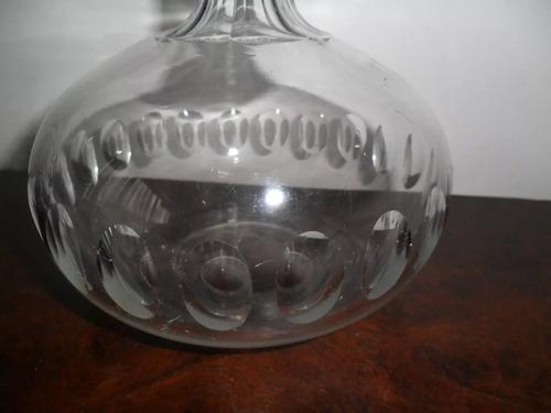garrafa licoreira em cristal