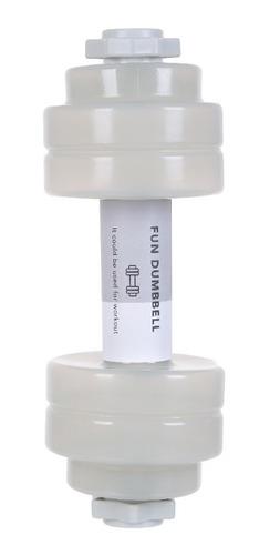 garrafa multifuncional miniso - halteres de peso