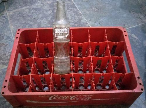 garrafa refrigerante grapette antiga vidro 296 ml vintage