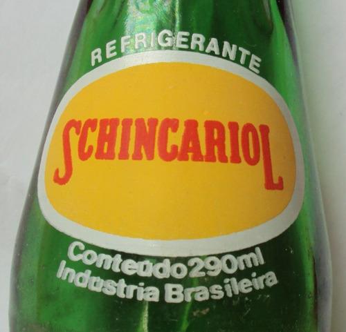 garrafa schincariol - verde - 290 ml  - r5