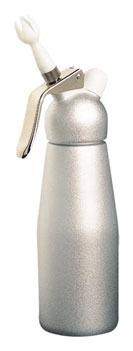 garrafa sifão p/ chantilly bestwhip 500 ml - cor prata