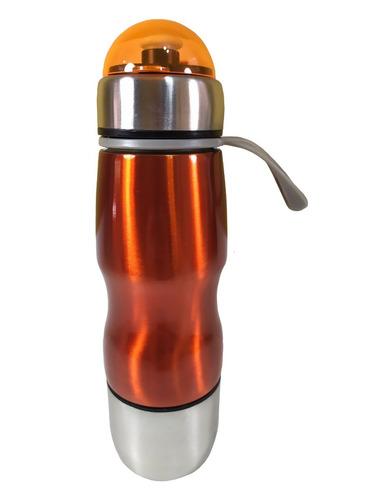 garrafa squeeze alumínio para água caminhada academia 600ml