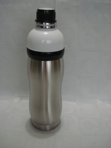 garrafa squeeze cantil aço inox térmico parede dupla 350ml