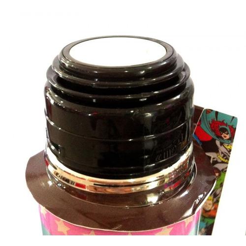 garrafa térmica 500ml inox american muscle car licenciado