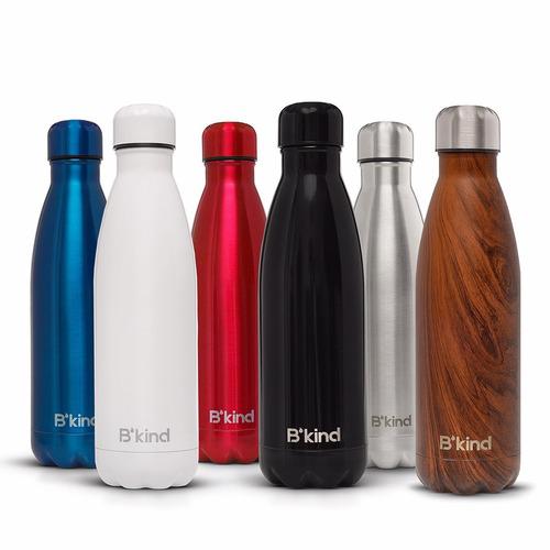 garrafa termica aco inox swell b'kind - agua gelada 24 hrs