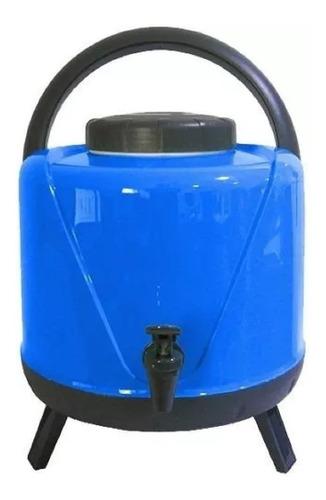 garrafa térmica  botijão água 5 litros com torneira tripé