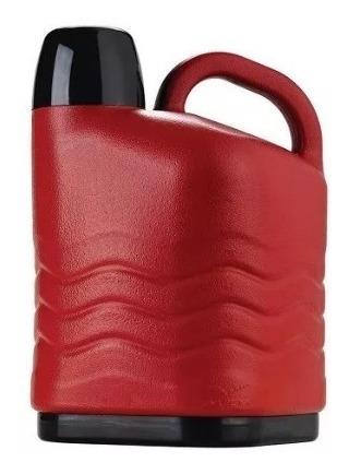 garrafa térmica botijão de 5 litros vermelha - invicta