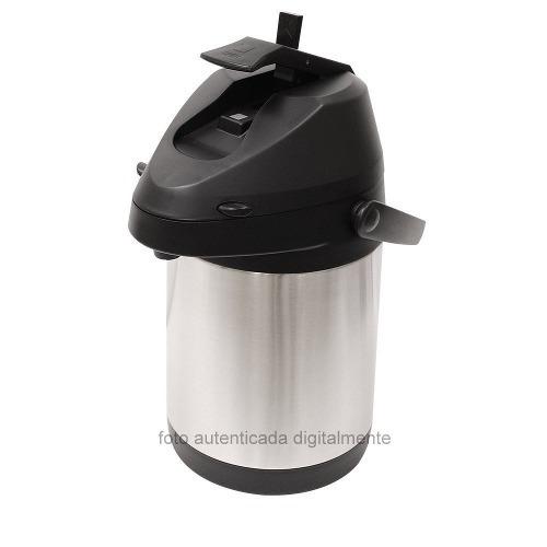 garrafa térmica com alavanca aço inox inquebrável 2,5lts top