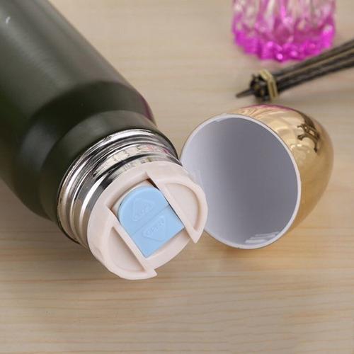 garrafa térmica de bala de fuzil a vácuo - 500ml p. entrega