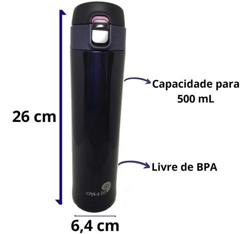 garrafa térmica inox 500ml fit água café presente envio 24h