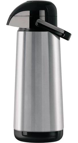 garrafa térmica inox lúmina 1l bomba de pressão termolar