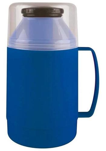 garrafa termica mor indie 500ml azul