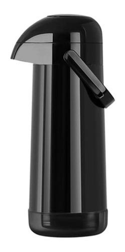 garrafa térmica pressão magic pump 1.8l preta termolar-8709