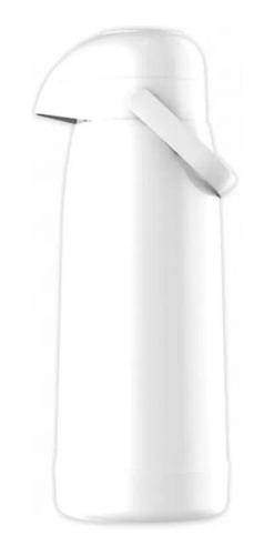 garrafa térmica pressão magic pump 1l branca termolar-8700