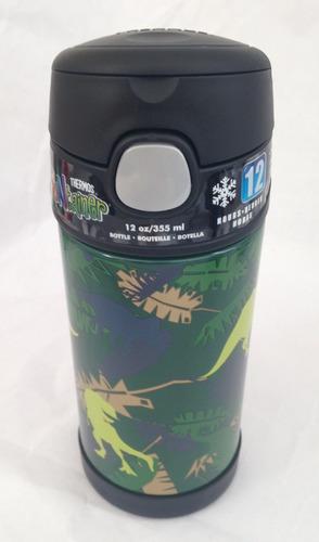 garrafa termica thermos dinossauro 355ml -envio imediato