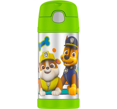 garrafa térmica thermos - original - patrulha canina