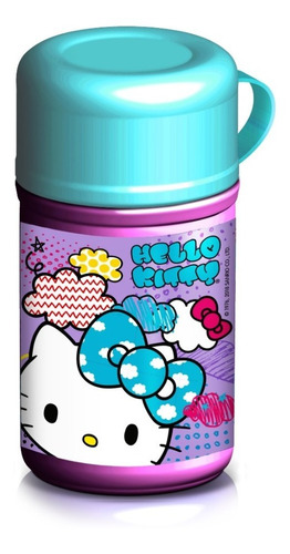 garrafa termofresh garrafinha hello kitty sanrio - gedex