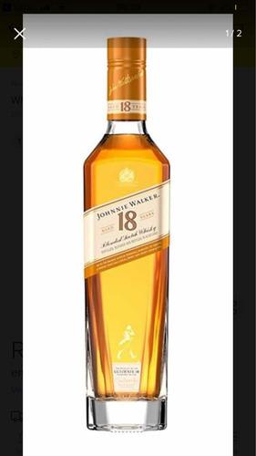 garrafa vazia ( jonnie walker 18 anos 1 litro