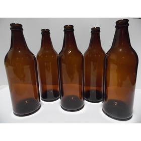 Garrafas Caçula 600ml 50unidad Cerveja Artesanal + 50 Tampas