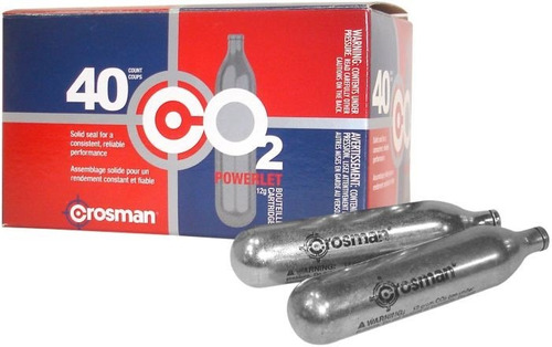 garrafas capsulas co2 crosman x 5 unidades