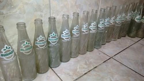 garrafas de refrigerantes mirinda antigad