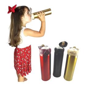 Garrafinha Térmica Criança Portátil Frio E Quente Infantil