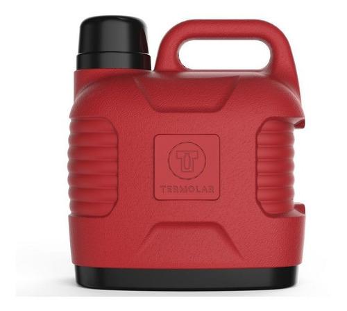 garrafão térmico 5 litros termolar vermelho