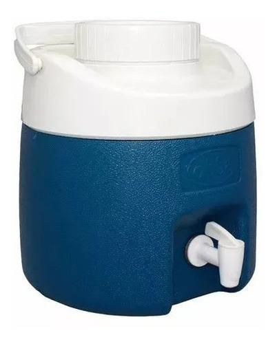 garrafão termico com torneira 4 litros azul
