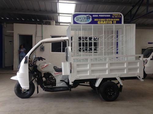 garrafonera para 48 garrafones motocarro gran cargo promo