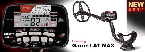 garrett atmax detector de metales oro huacas betas combo usa