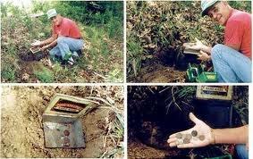 garrett gti2500 detector de metales + ojo de aguila oro mina