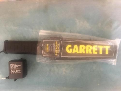 garrett superscanner (detector de metales)