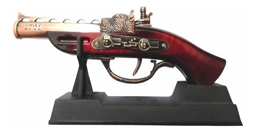 garrucha pistola decorativa com isqueiro maçarico