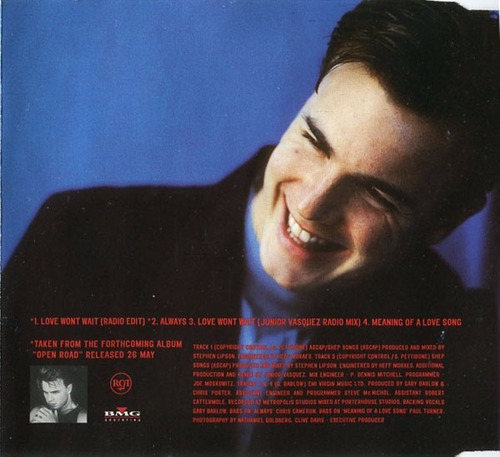 gary barlow love won't wait cd single nacional impecable