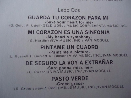 gary lewis & the playboys lo mejor vinyl lp acetato