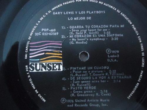 gary lewis y los playboys / lo mejor vinyl lp acetato