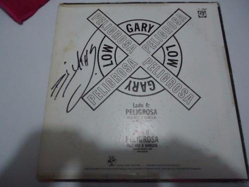 gary low / you are a danger vinyl lp acetato